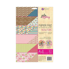 Prima Marketing - Prima Julie Nutting Double-Sided Paper Pad A4 30 pack - November & December