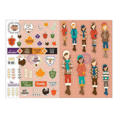 Prima Marketing - Julie Nutting Planner Monthly Stickers 2 pack - November