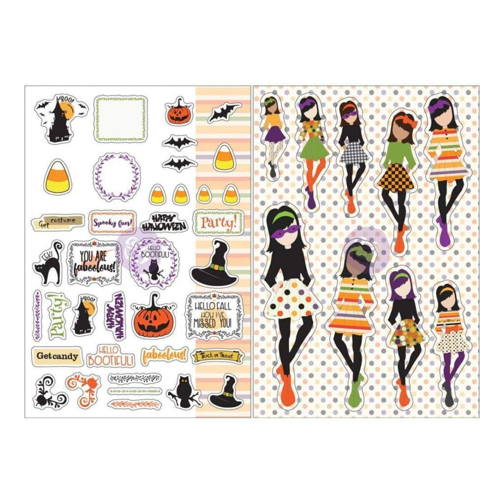 Prima Marketing - Julie Nutting Planner Monthly Stickers 2 pack - October