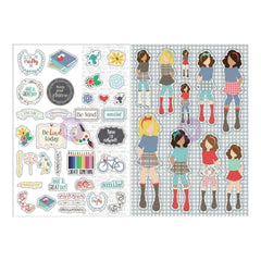 Prima Marketing - Julie Nutting Planner Monthly Stickers 2 pack September