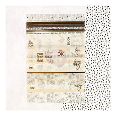 Prima Marketing - My Prima Planner Washi Stickers 4 pack with Foil Accents