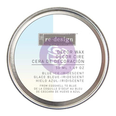 Prima Marketing - Prima Re-Design Wax Paste 50ml - Blue Iridescent