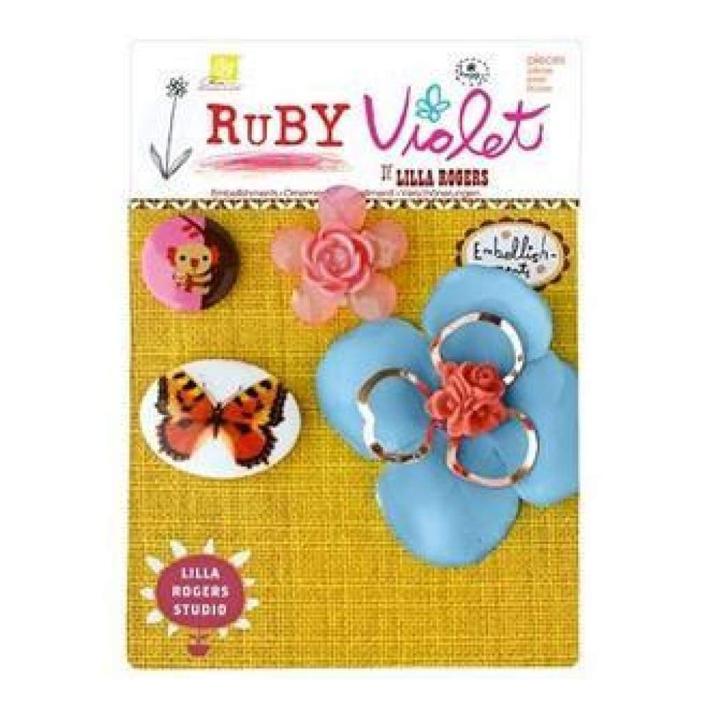 Prima Marketing - Ruby Violet - Embellishments No.3
