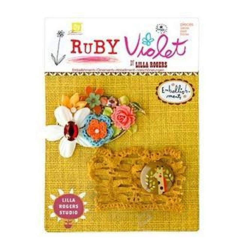 Prima Marketing - Ruby Violet - Embellishments No.7