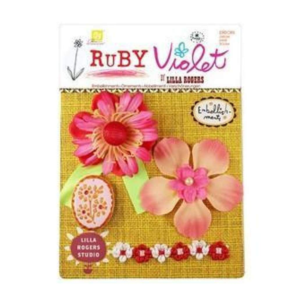 Prima Marketing - Ruby Violet - Embellishments No.17
