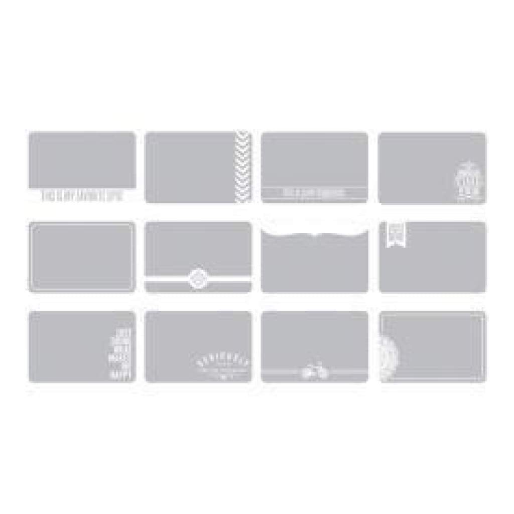 Project Life 4In.X6in. Photo Overlays 12 Pack Set #1
