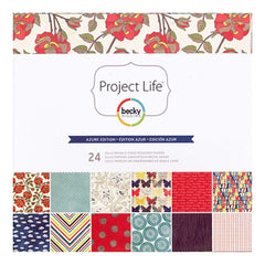 Project Life Becky Higgins - Azure Collection