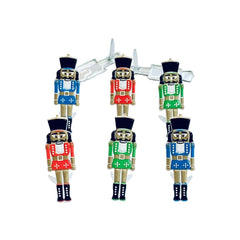 Eyelet Outlet Shape Brads 12 pack - Nutcracker