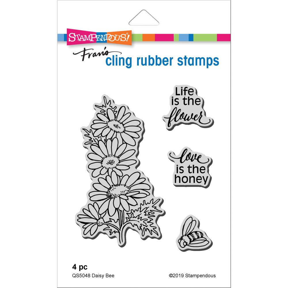 Stampendous Cling Stamp - Daisy Bee