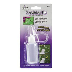 Quilled Creations - Precision Tip Glue Applicator Bottle - Empty .5oz