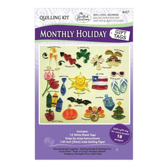 Quilled Creations - Quilling Kit Monthly Holiday Gift Tags