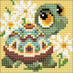 RIOLIS Diamond Mosaic Embroidery Kit 4in x 4in - Turtle