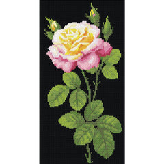 RIOLIS Diamond Mosaic Embroidery Kit 7.75in x 15in - Wonderful Rose