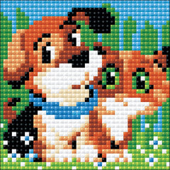 RIOLIS Diamond Mosaic Embroidery Kit 4in x 4in - Stick With Me