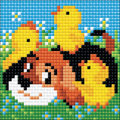RIOLIS Diamond Mosaic Embroidery Kit 4in x 4in - Best Friend
