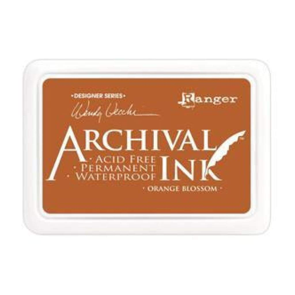 Ranger Archival Ink Pads - Orange Blossom