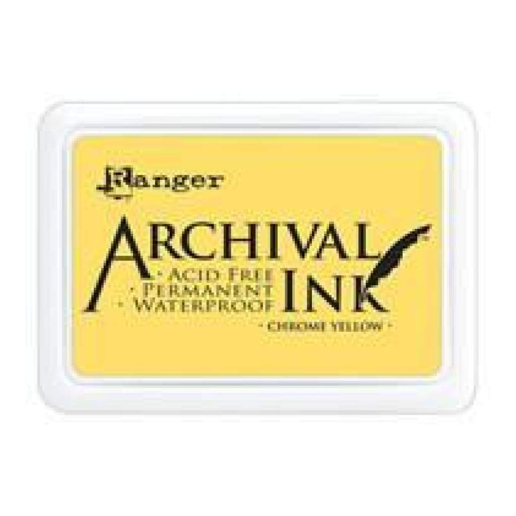 Ranger Archival  Stamp Pads-  Chrome Yellow