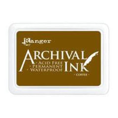 Ranger Archival  Stamp Pads - Coffee