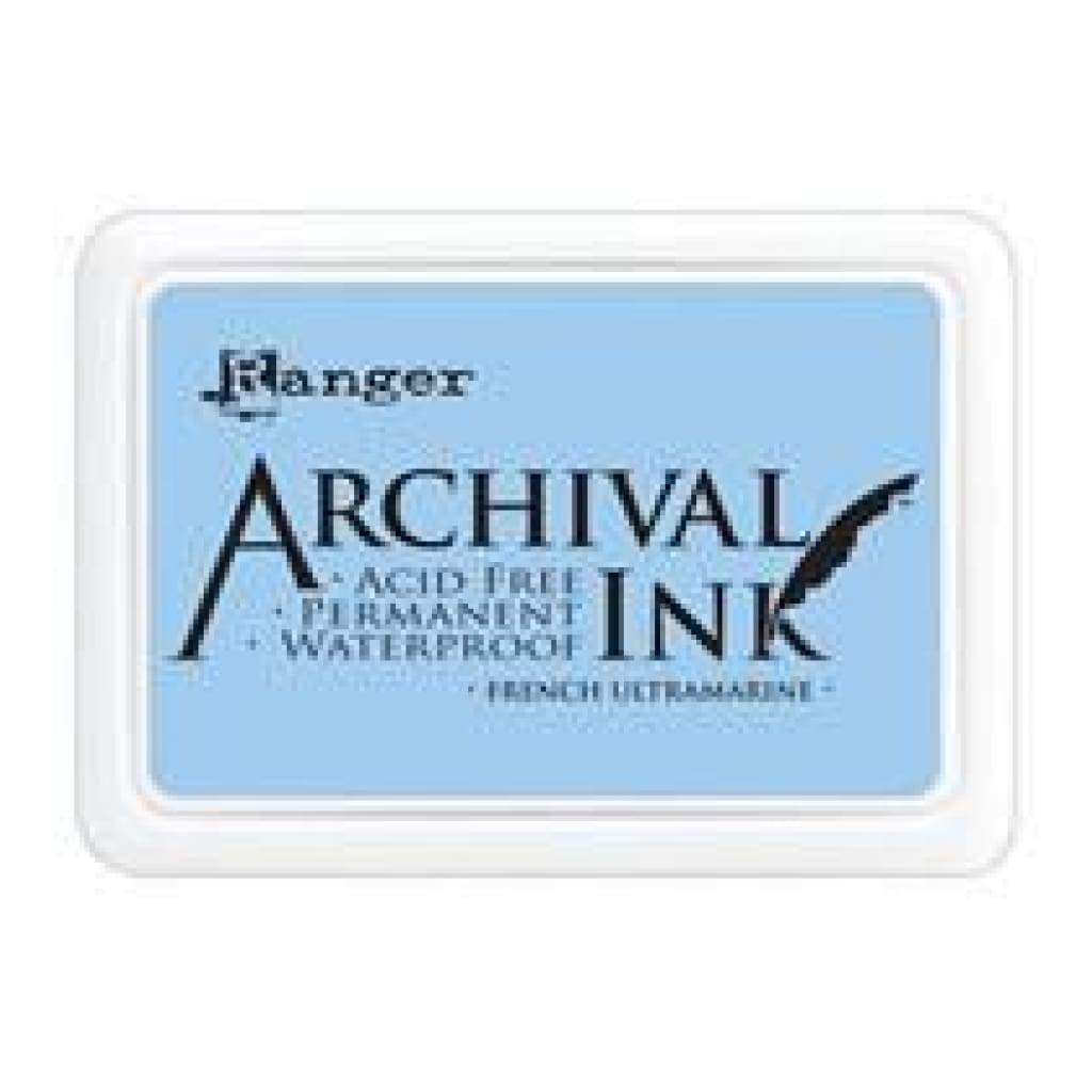 Ranger Archival  Stamp Pads - French Ultramarine