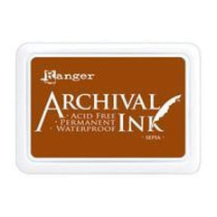 Ranger Archival  Stamp Pads - Sepia
