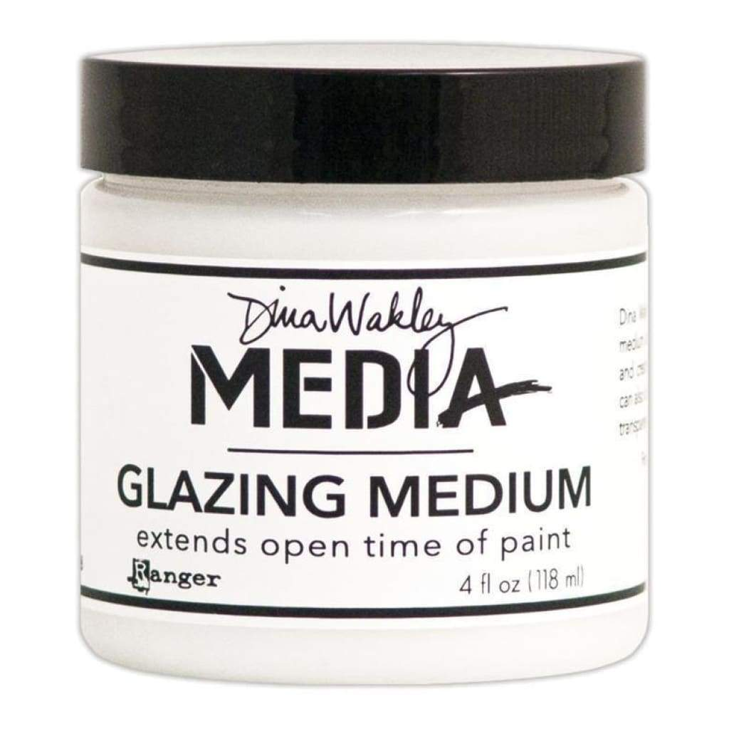 Dina Wakley Media Glazing Medium 4Oz (118Ml)