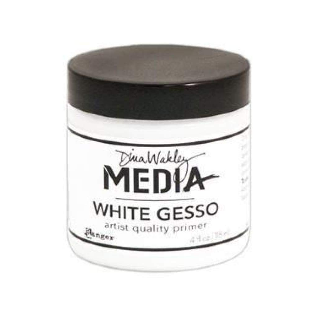 Dina Wakley Media White Gesso 4Oz (118Ml)