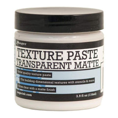 Ranger Texture Paste - Transparent Matte 3.9Oz (116Ml)