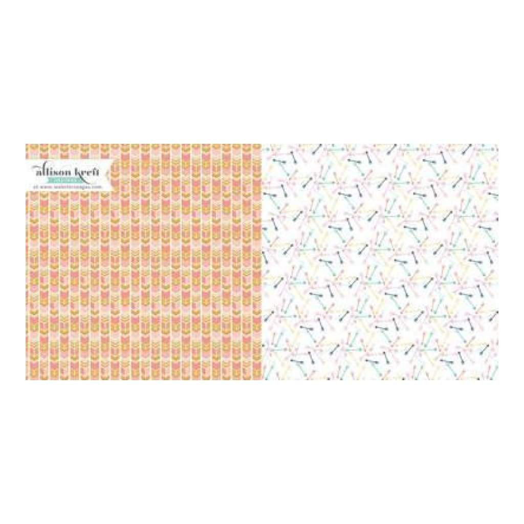 Recorded - To The Point 12X12 D/Sided Paper (Pack Of 10)