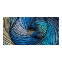 Red Heart Boutique Unforgettable Yarn - Regatta- 3.5oz/100g