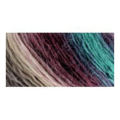 Red Heart Boutique Unforgettable Yarn - Tealberry - 3.5oz/100g