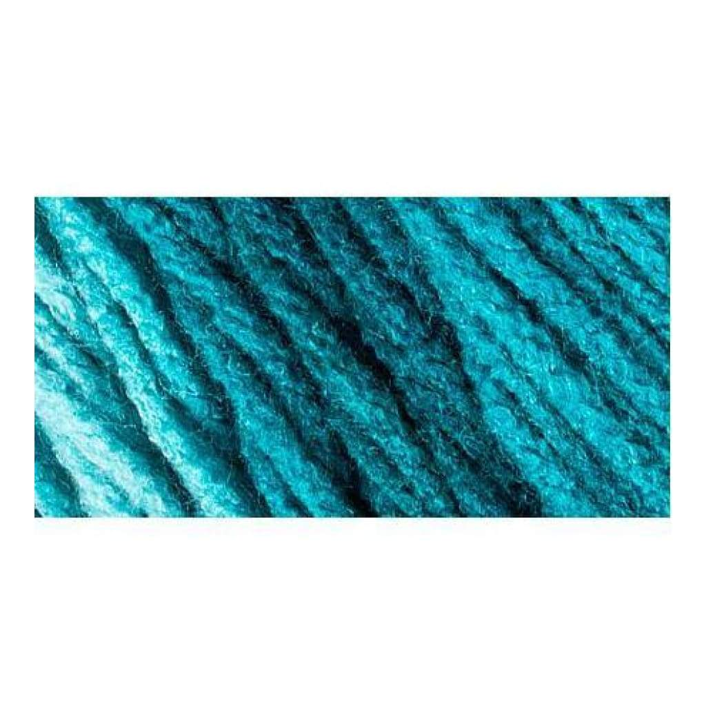 Red Heart Super Saver Ombre Yarn - Deep Teal