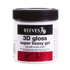 Reeves - 3D Gloss Super Heavy Gel 237ml