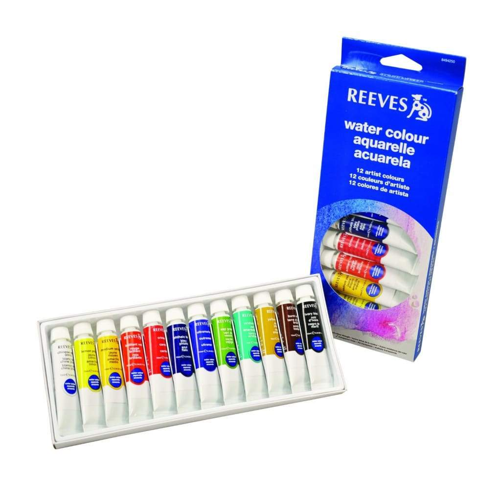 Reeves - Water Colour 10ml Set 12