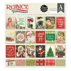 Authentique - Double-Sided Cardstock Pad 12 inches X12 inches  18 pack - Rejoice Enhancements