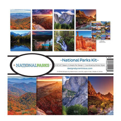 Reminisce - Collection Kit 12 inch X12 inch National Parks
