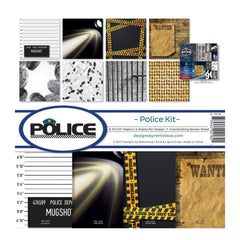 Reminisce Collection Kit 12X12 Police