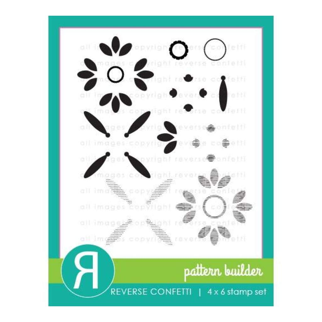 Reverse ConfettiStamps - Pattern Builder