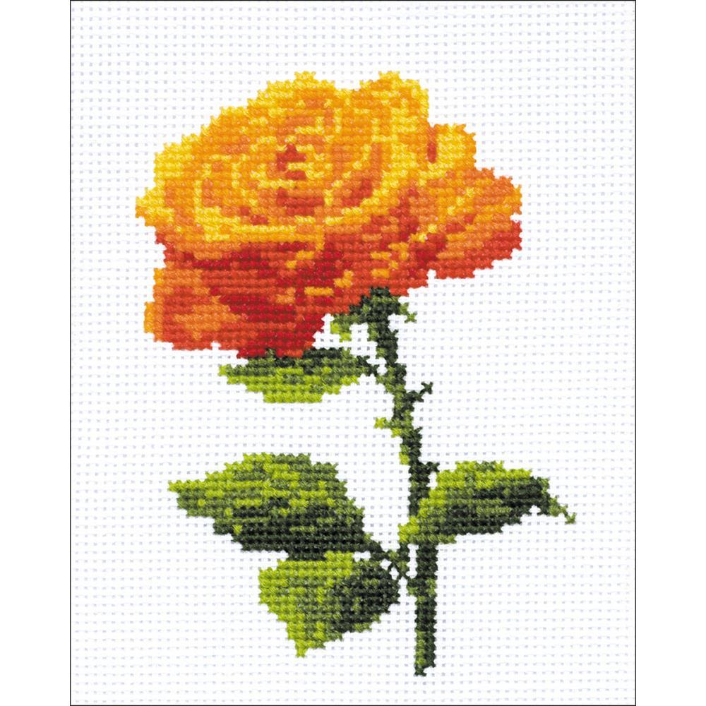 RIOLIS Counted Cross Stitch Kit 5inch X6.25inch - Annabel (14 Count)