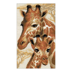 RIOLIS Counted Cross Stitch Kit 8.75inch X15inch Giraffe (10 Count)