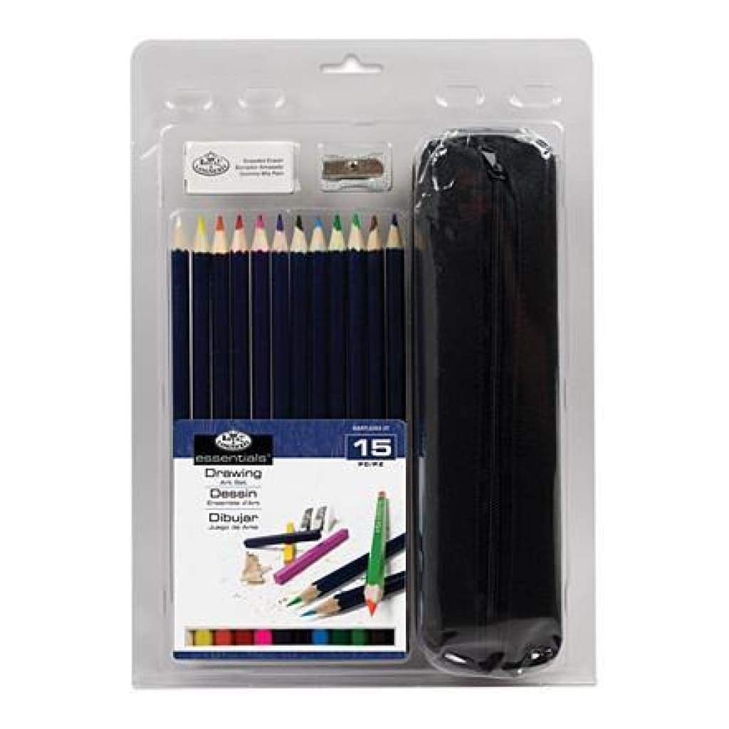Royal Brush - Clamshell Art Sets Drawing Pencil With Case