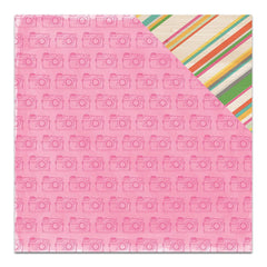 "Amy Tan Rise & Shine Double-Sided Cardstock 12"" X 12"" Claire"