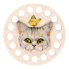 RTO Buratini Thread Organizer 13cm Kitty