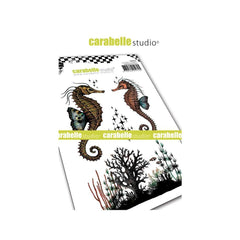 Carabelle Studio Cling Stamp A6 Seahorses