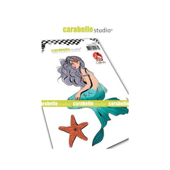 Carabelle Studio Cling Stamp A6 By C Comme Line Mermaid