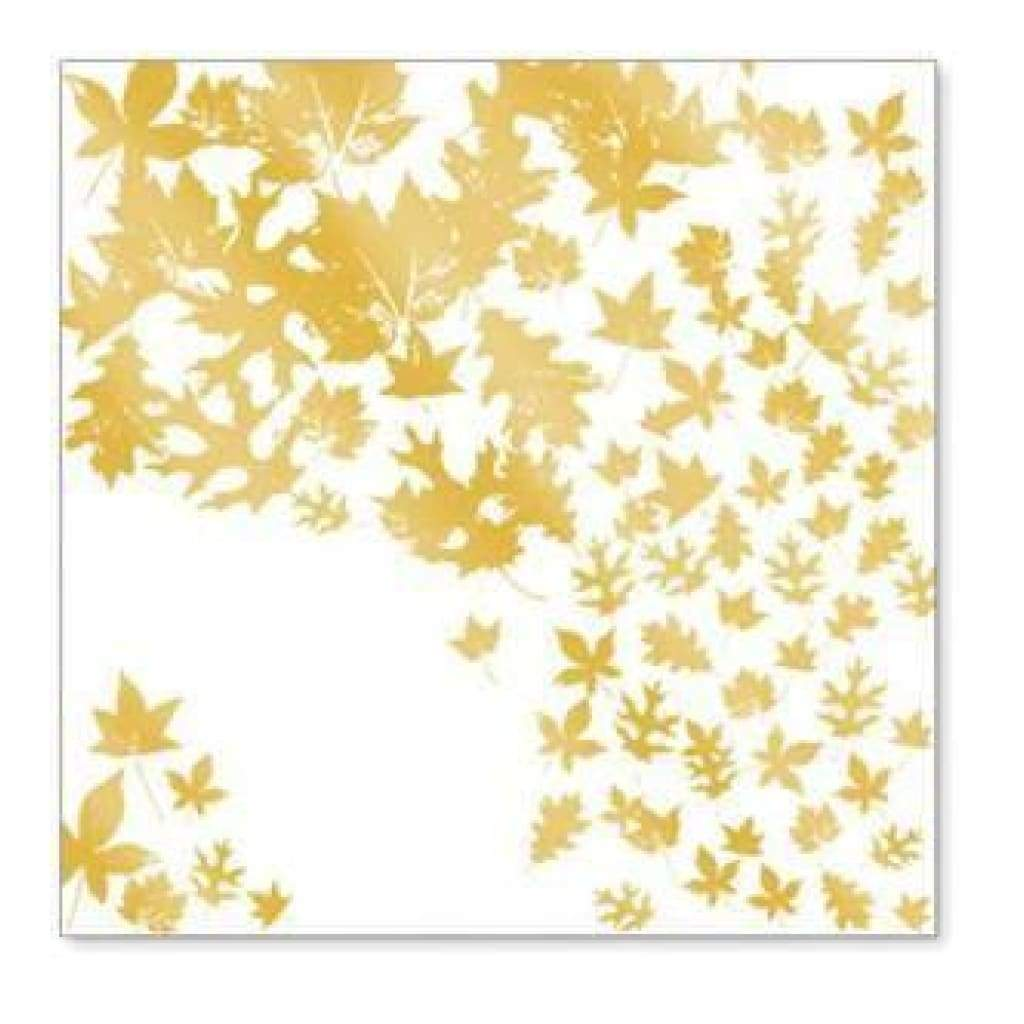 Sale Item - Hambly Screen Prints - Autumn Breeze Overlay - Metallic Gold  - Sing