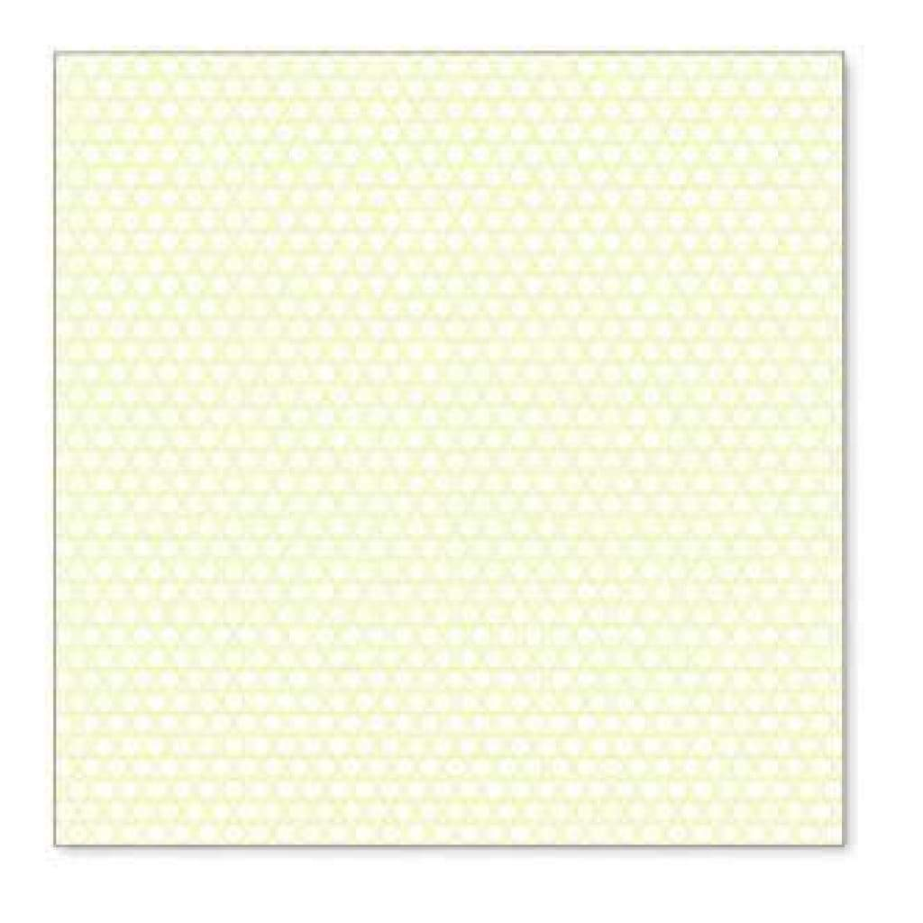 Hambly Screen Prints - Little Circles Overlay - Lime Green  - Single