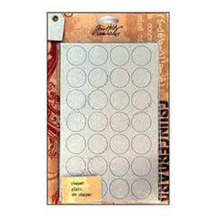Sale Item - Tim Holtz - Grungeboard Shapes 9 Sheets - Plain - Normal Price: $18.99 (E56t)