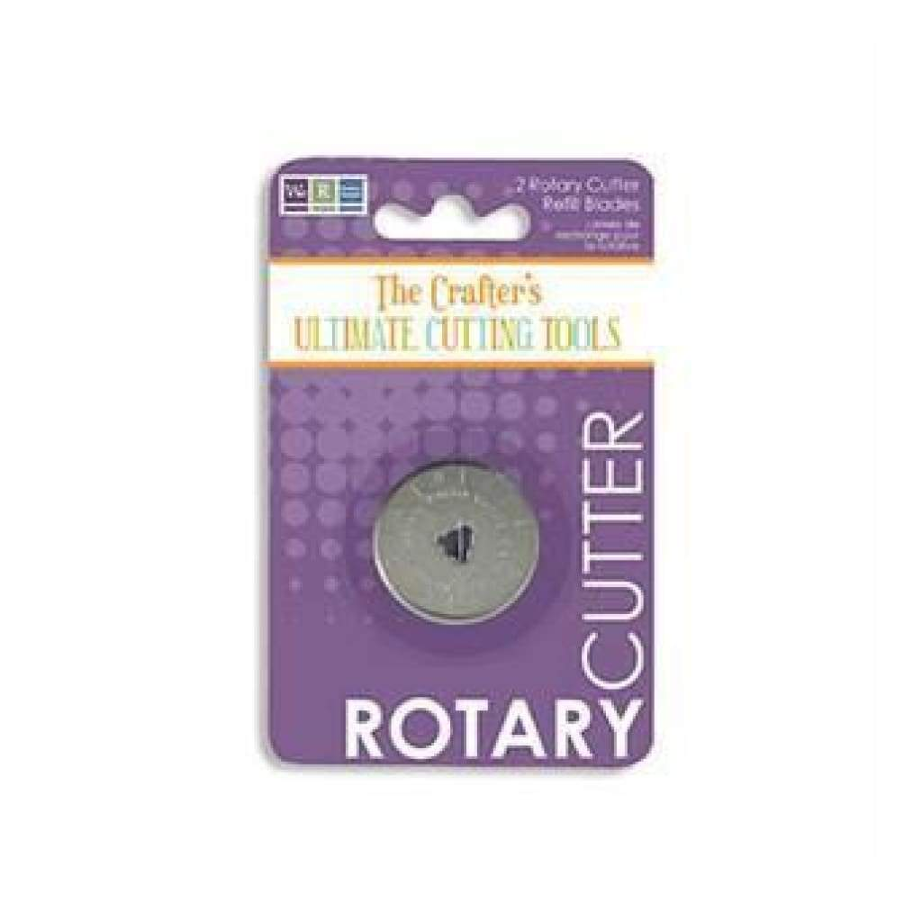 Sale Item - Wer Memory Keepers - Crafters Rotary Cutter Refill Blades 2Pc