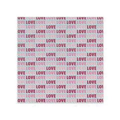 Sale Item - Wer Memory Keepers - Love Struck - Love 12X12 Glitter Paper