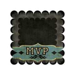 Sale Item - Wer Memory Keepers - Mvp - Ruth 12X12 Die Cut Cardstock